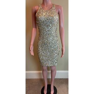 Alice + Olivia Sequin Ultimate Party Dress